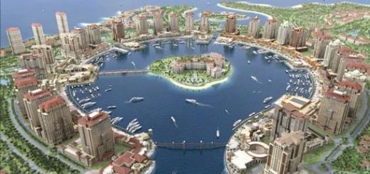 Katar'da Pearl Bolgesi