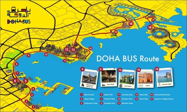 Doha Bus Gezi Rotasi
